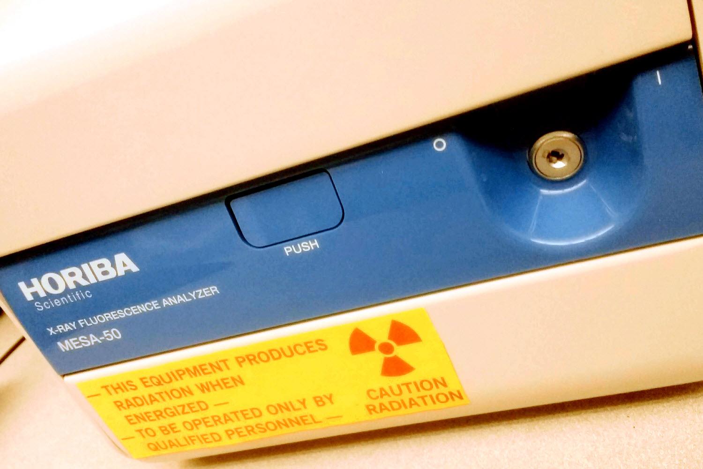 HORIBA MESA 50 X-Ray Fluorescence Analyzer